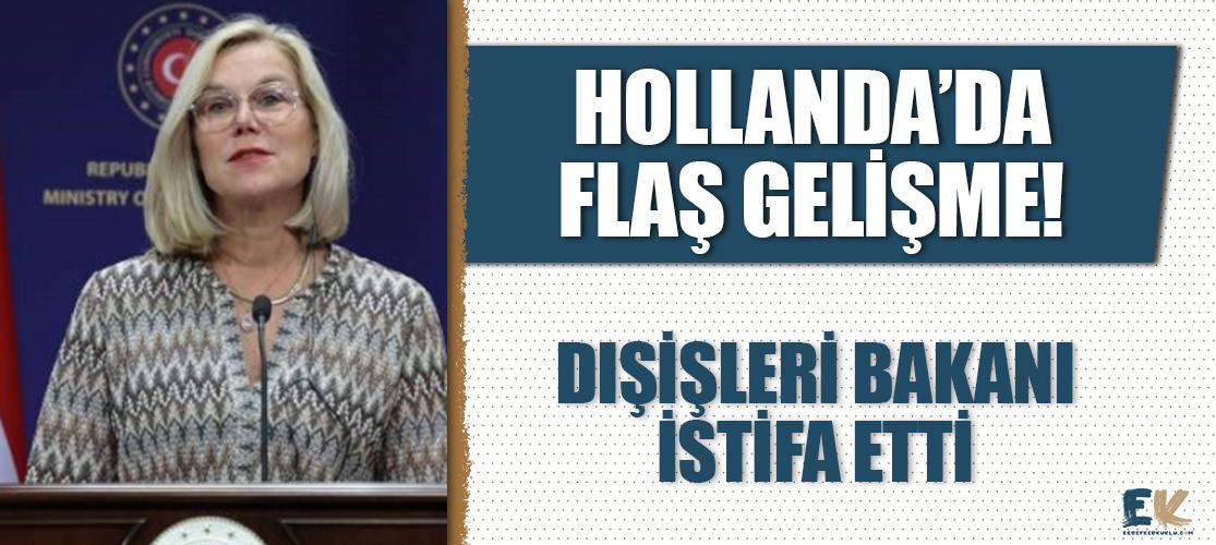 Afganistan'daki tahliyelerde geç kalmakla suçlanan Hollanda Dışişleri Bakanı Kaag istifa etti