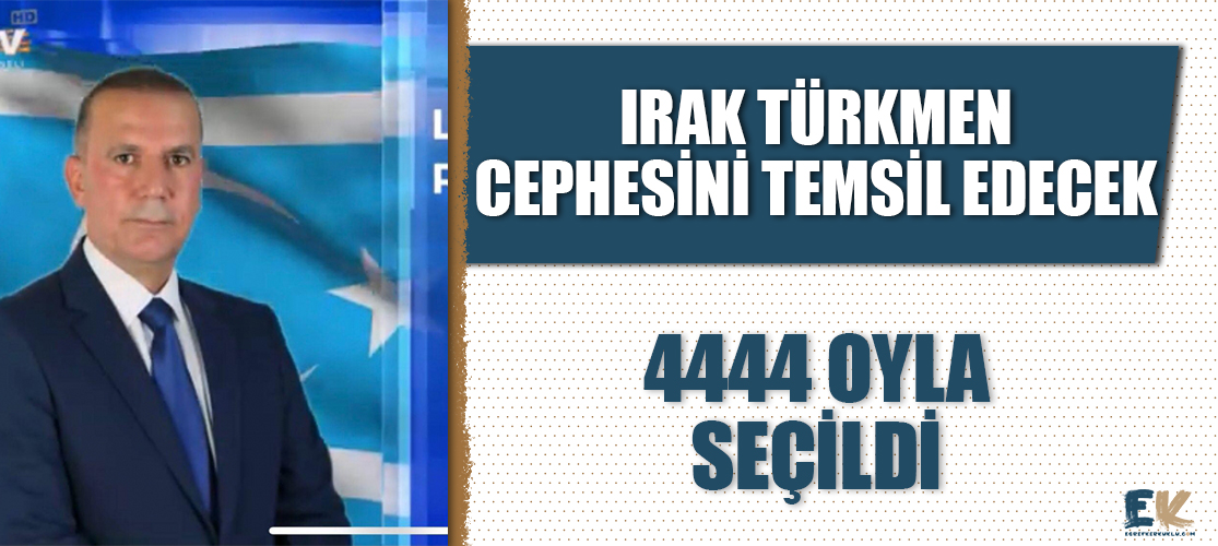 Irak Türkmen Cephesi adayı Lokman Necm Reşidiyeli Musul'dan milletvekili seçildi