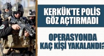 Kerkük'te polis göz açtırmadı! Uyuşturucu operasyonunda 7 kişi yakalandı