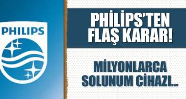 Philips'ten flaş hareket! Milyonlarca solunum cihazı geri çağrıldı