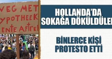 Hollanda'da yüksek kira protestosu