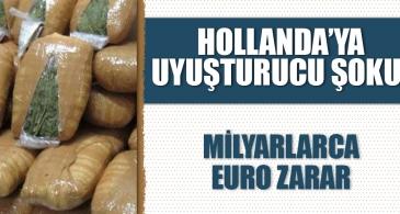 Uyuşturucu kaynaklı suçların Hollanda'ya maliyeti 4,1 milyar avro