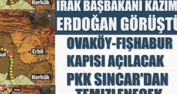 """""""Ovaköy kapısı gündeme ilk getirildiğinde açılabilmiş olsaydı, Irak Türklerininülkedeki siyasi konumlarını etken olacaktı"""""""