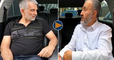 Hengelo Ayasofya Cami eski başkanı Ahmet Albostanlı, Şerafettin Babacan'ı işaret ederek: Sahtekar kim?